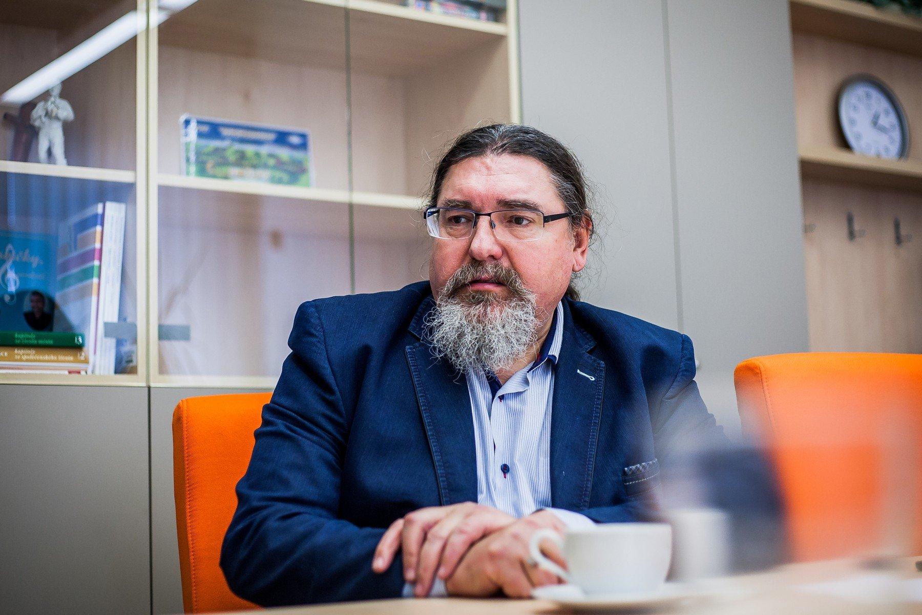 Břetislav Hrdlička, starosta města Strakonice