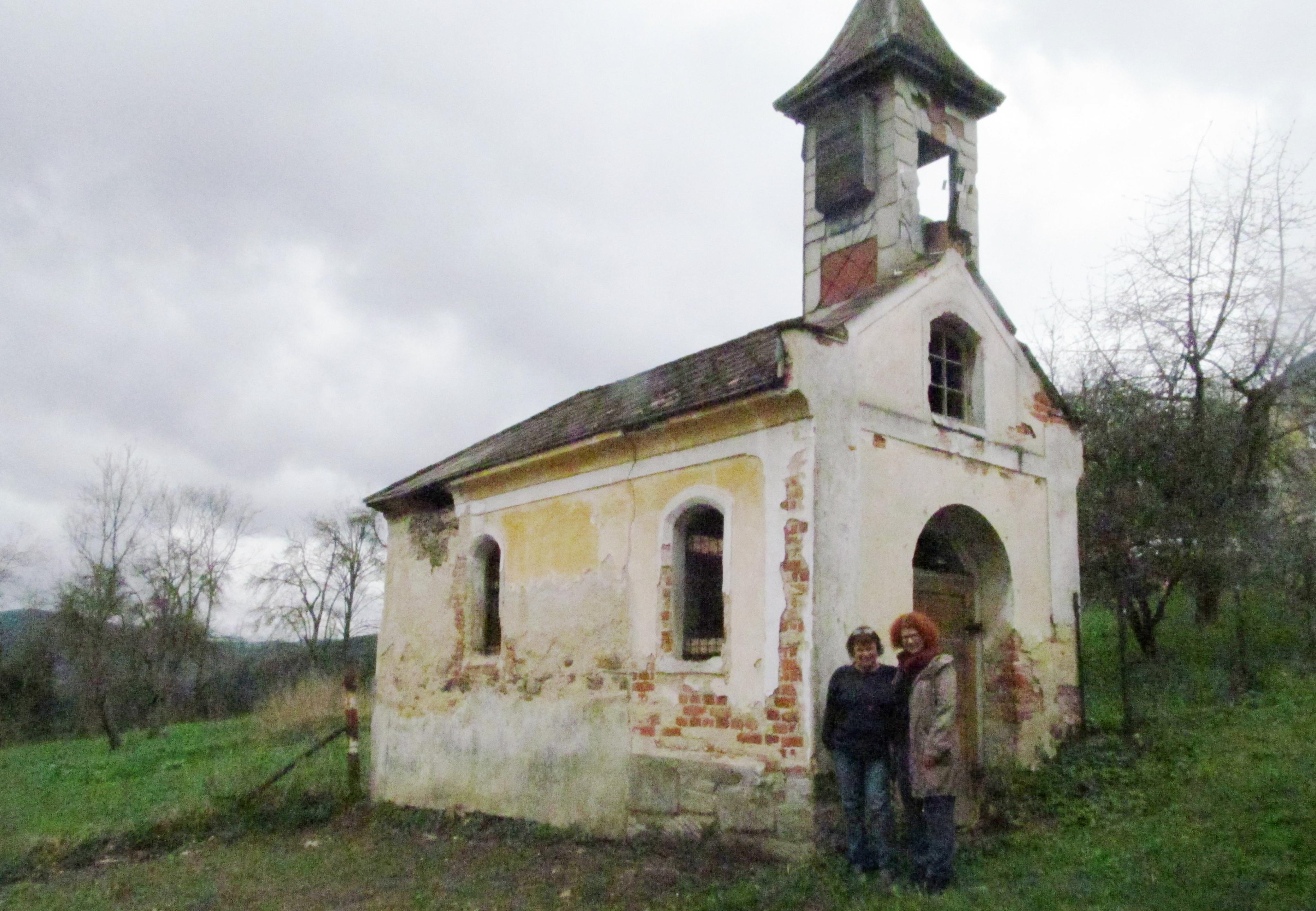 Kaplička v lokalitě Brantlův dvůr, kterou chce zachránít spolek Vimpersko