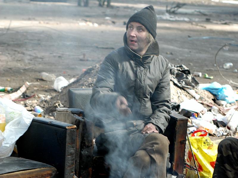 Žena bez domova
