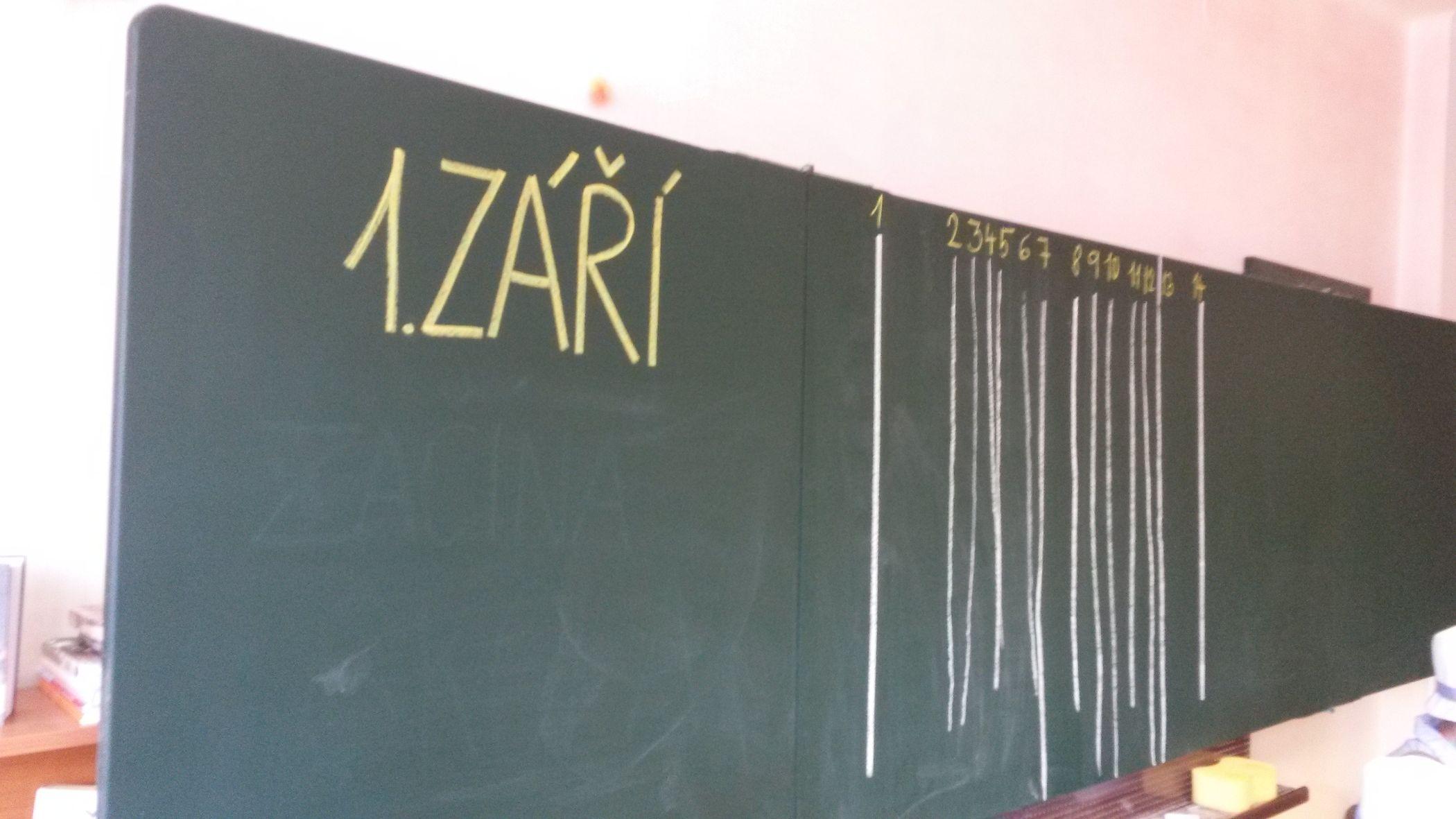 První den v terezínské waldorfské škole