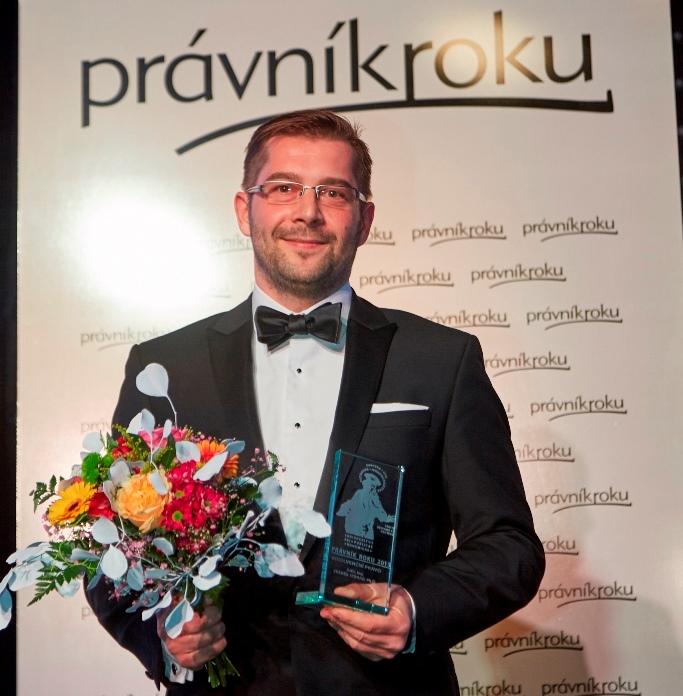 Zdeněk Strnad převzal v Brně ocenění právník roku