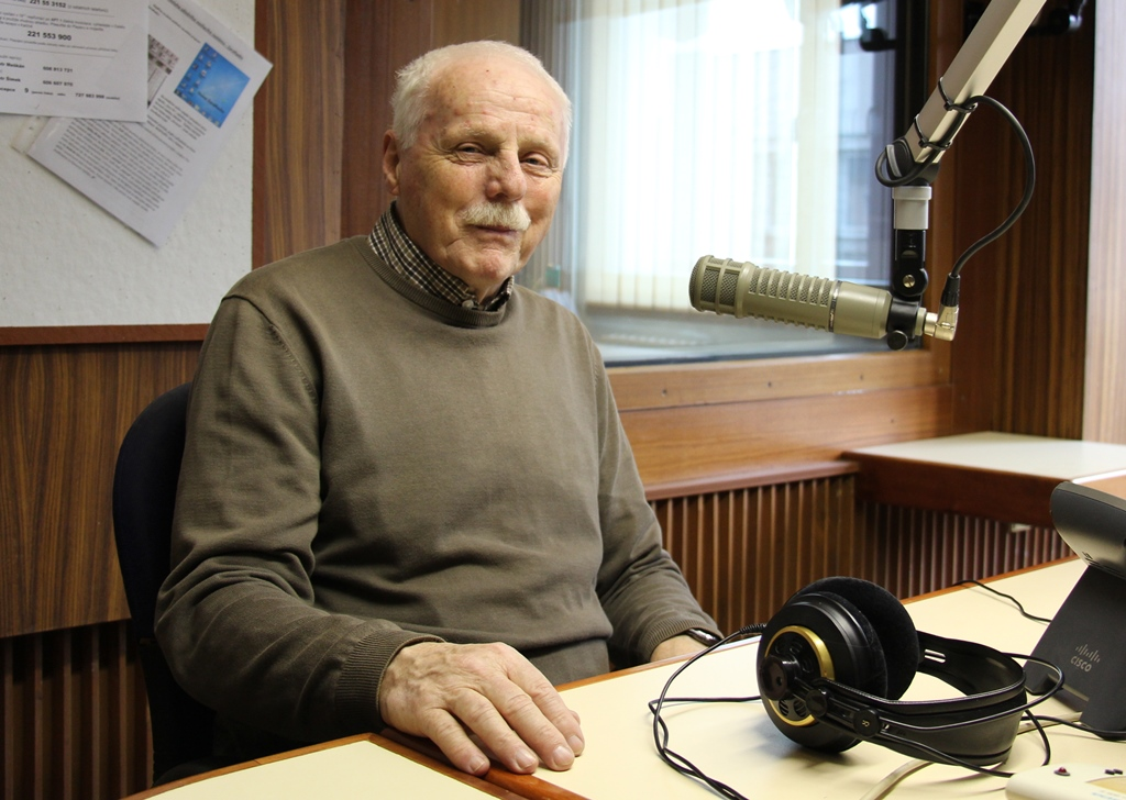 Petr Brukner v českobudějovickém rozhlase
