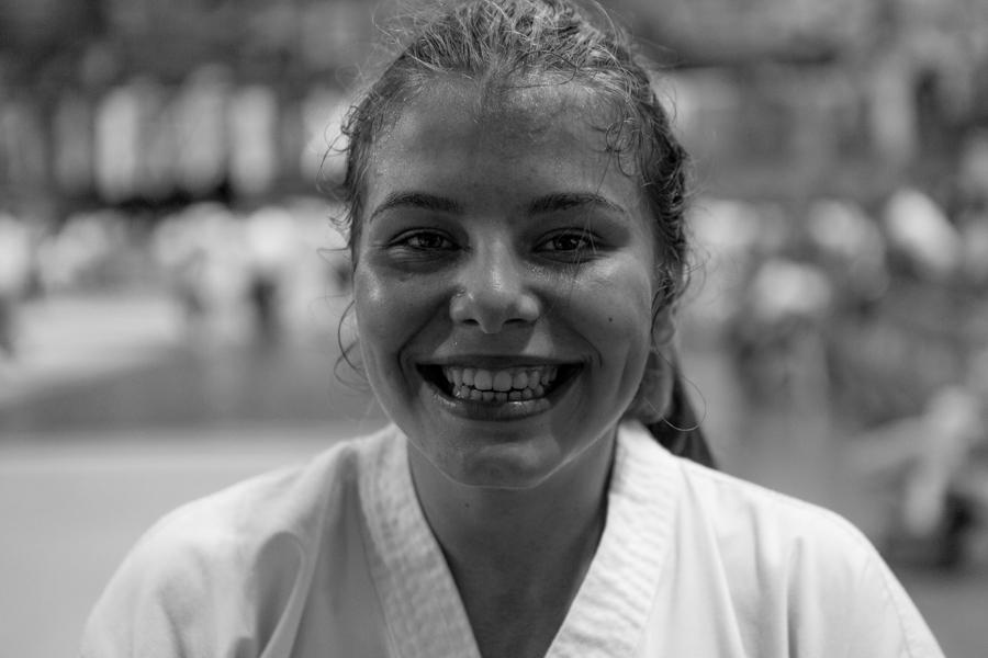 Anežka Čurdová na mistrovství světa v taekwon-do