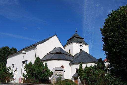 Kostel svatého Prokopa v Chyškách