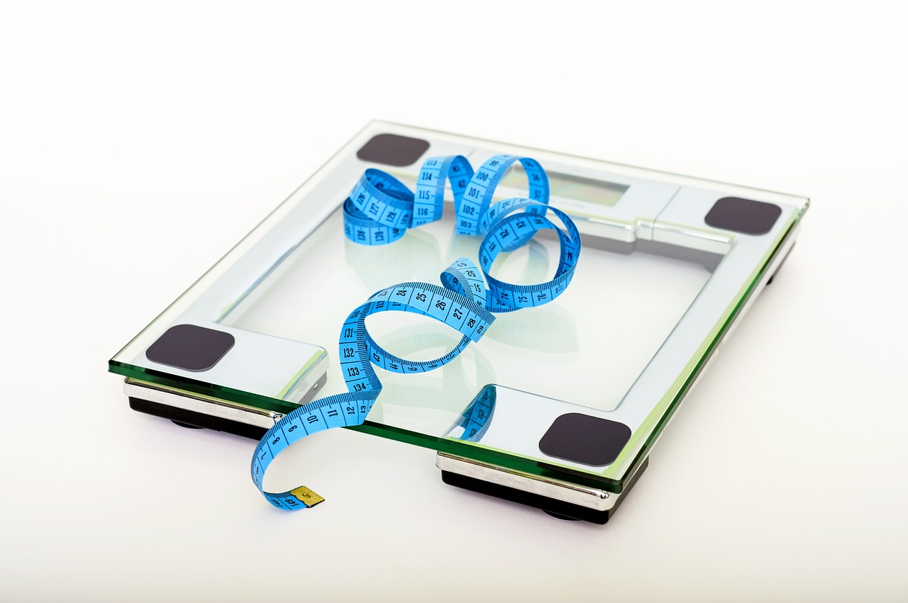 Váha, metr, dieta, hubnutí