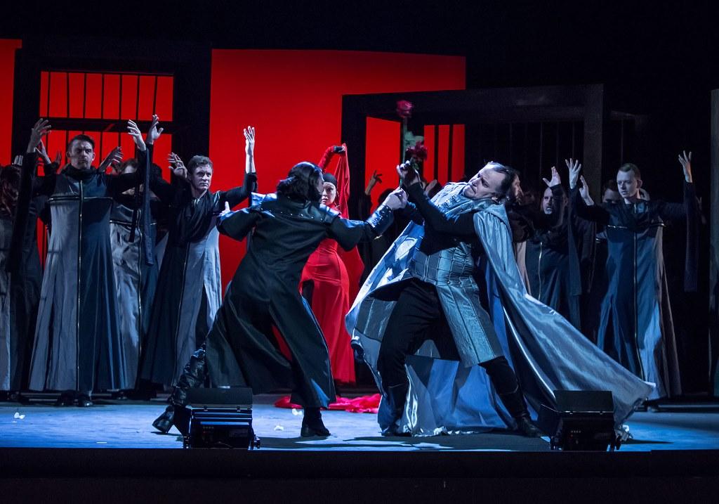 Opera Trubadúr v Jihočeském divadle