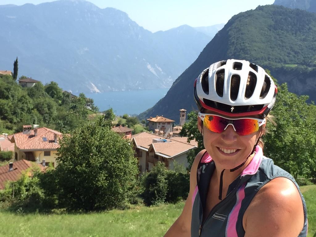 Kateřina Neumannová jezdí ráda na kole na Šumavě, ale také v Itálii. Provincii Trentino popisuje jako cyklistický ráj