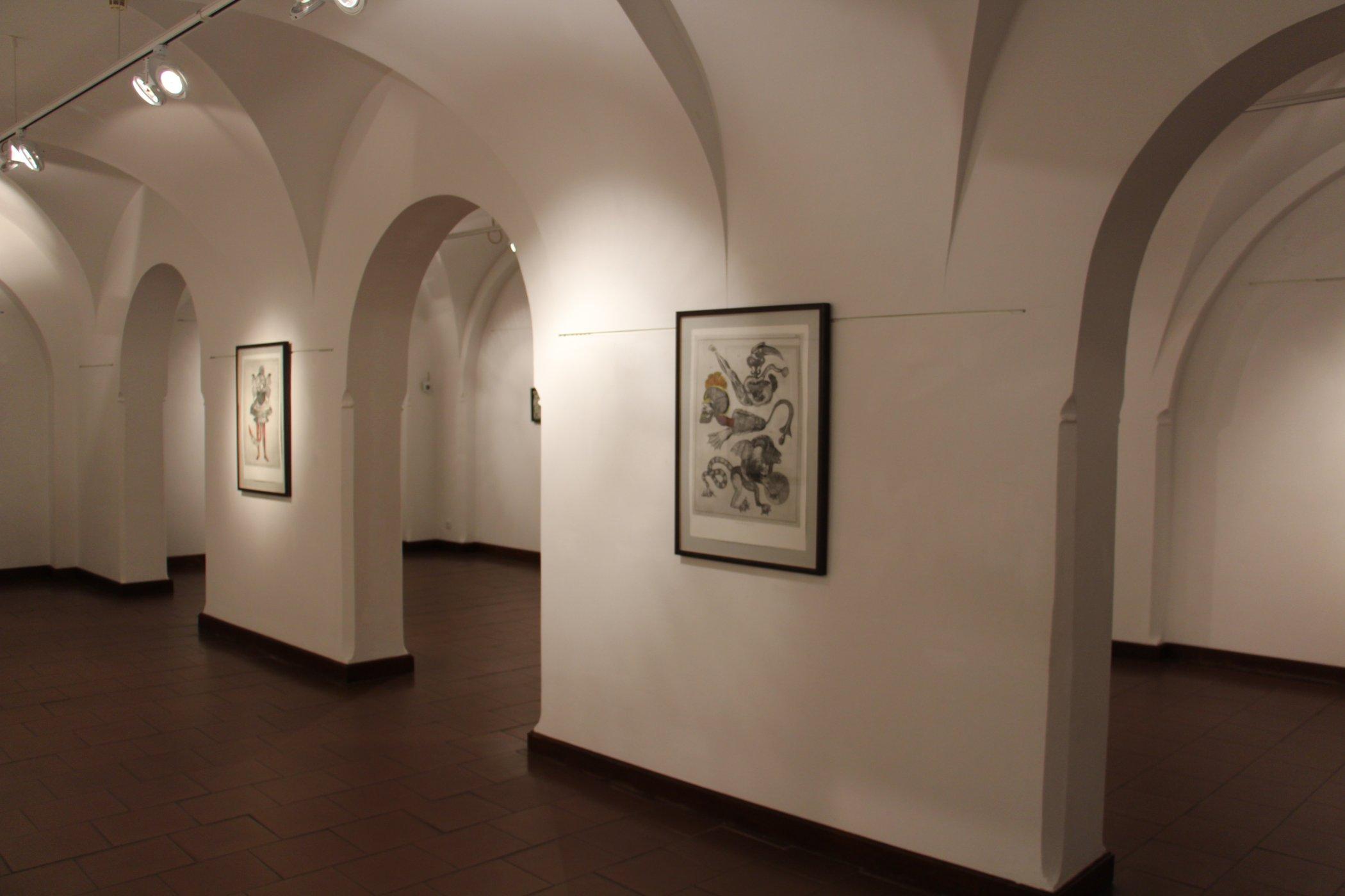 Jedna z mnoha výstav Alšovy jihočeské galerie