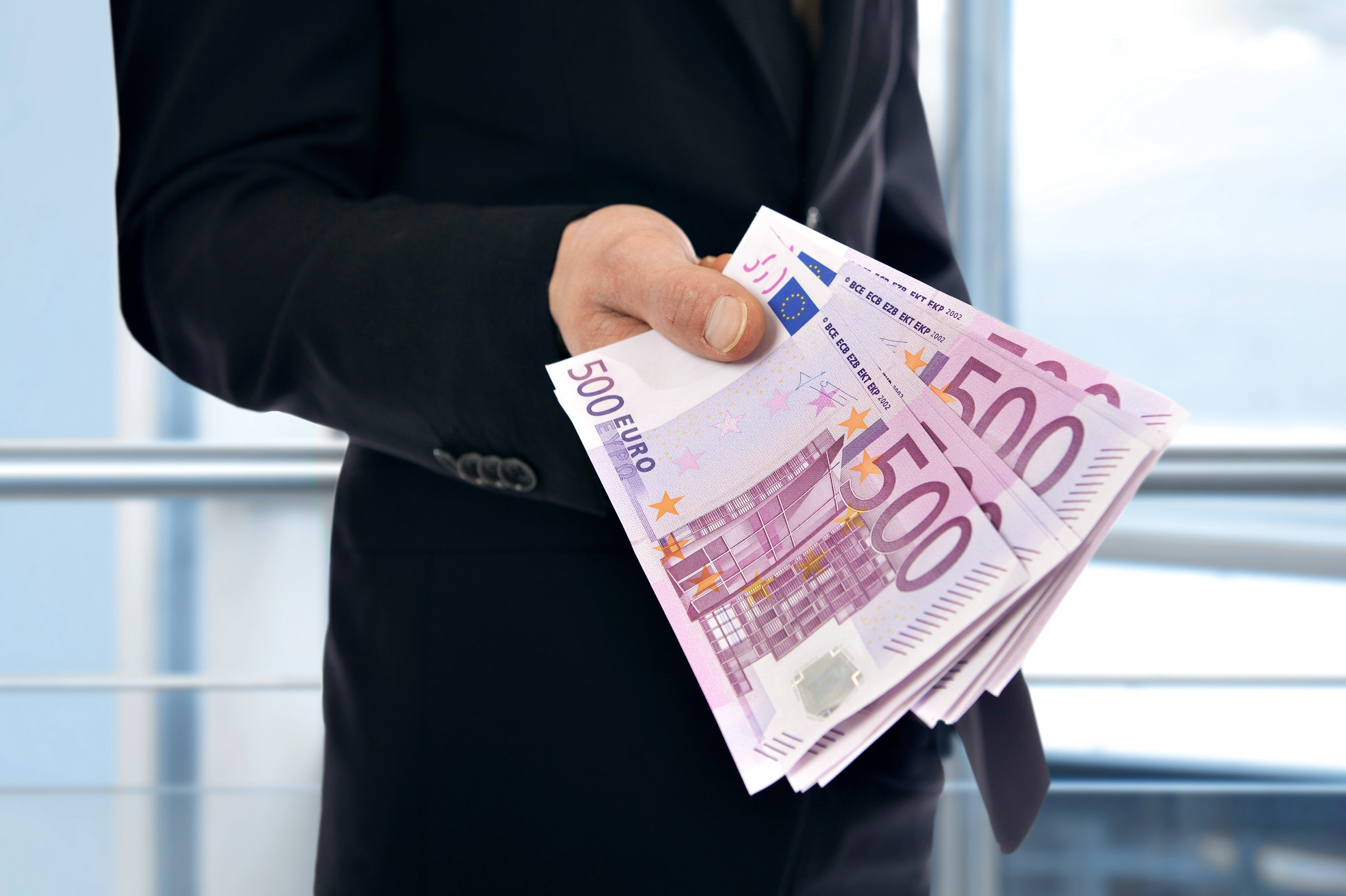 500 euro bankovka