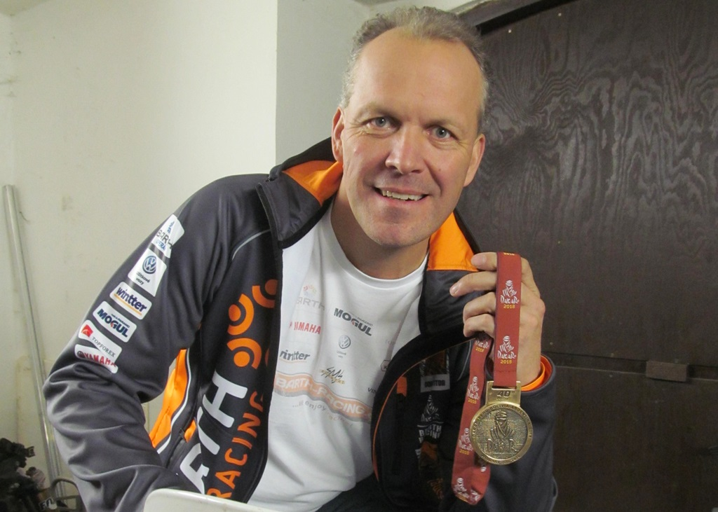 Zdeněk Tůma jel na čtyřkolce Rallye Dakar
