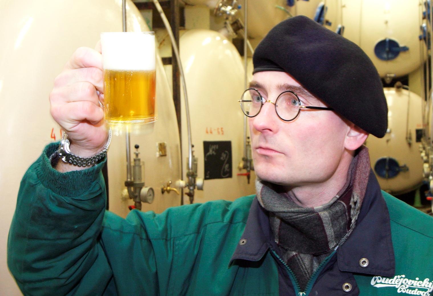 Pivní someliér Budvaru Aleš Dvořák