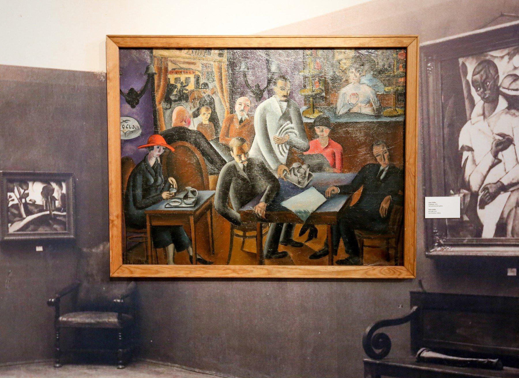 Výstava Košická moderna – Kontexty meziválečného umění zůstane v Alšově jihočeské galerii v Hluboké nad Vltavou do 27. května