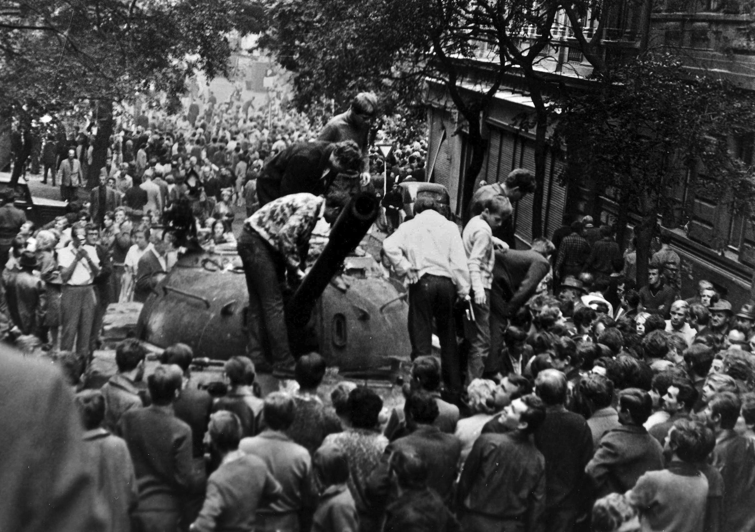 Srpen 1968 v Praze