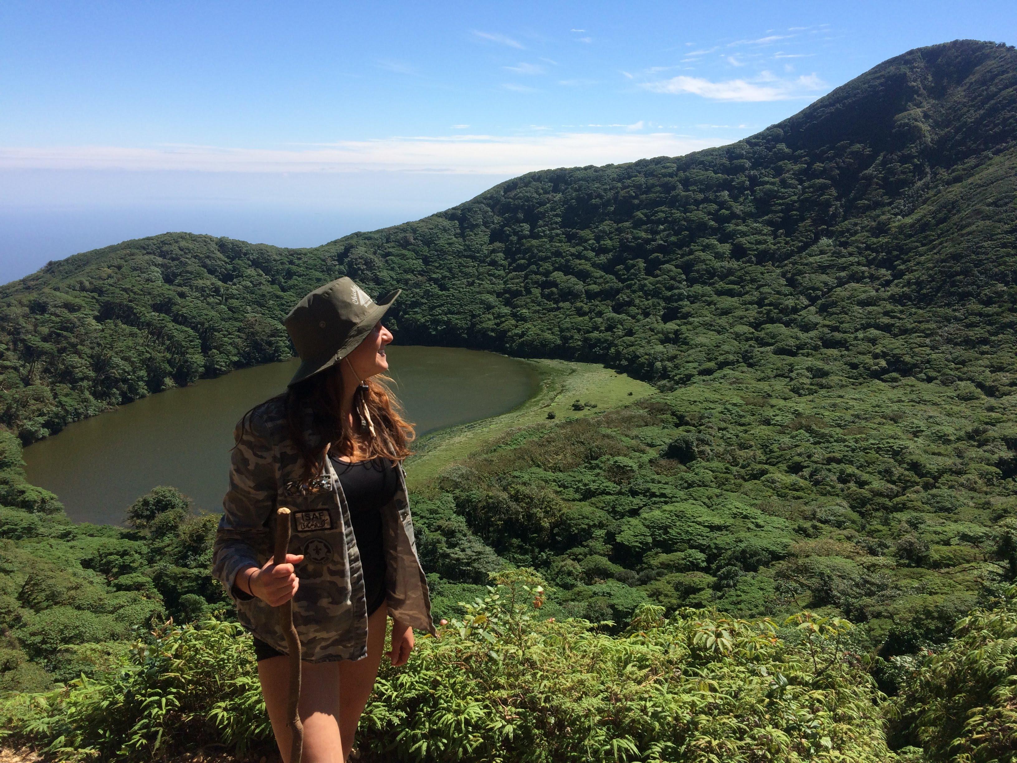 Z cesty Lenky Kosmatové po střední Americe