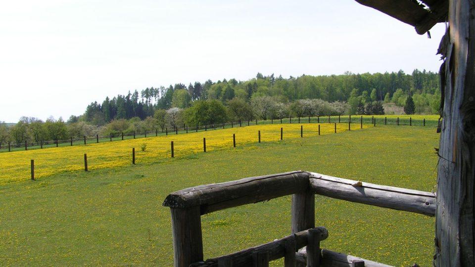 Krásný výhled ze strážní věže