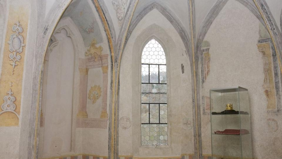 Opatská kaple ve Zlaté koruně