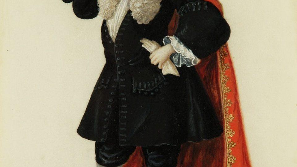 Norimberský advokát z doby vrcholného baroka