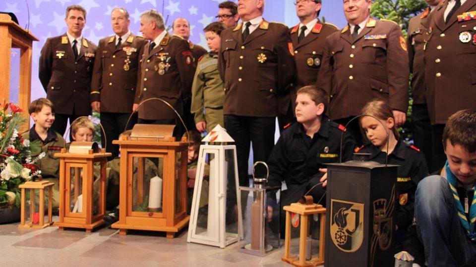 Redaktor Filip Černý vyrazil pro Betlémské světlo na slavnost ORF do Lince