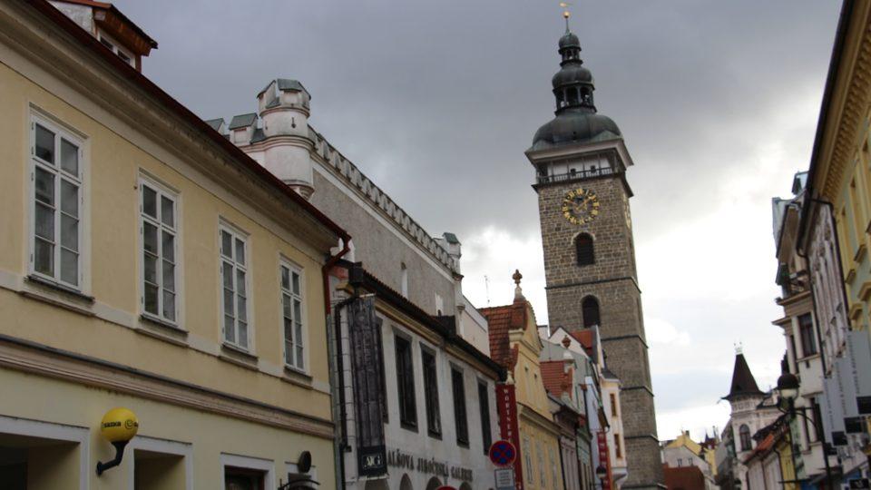 Wortnerův dům v ulici U Černé věže v Českých Budějovicích. Původně se ulice jmenovala Židovská a stála zde dokonce synagoga