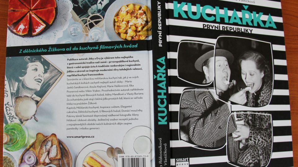 Kuchařka první republiky Jitky Rákosníkové a Evy Všetíčkové