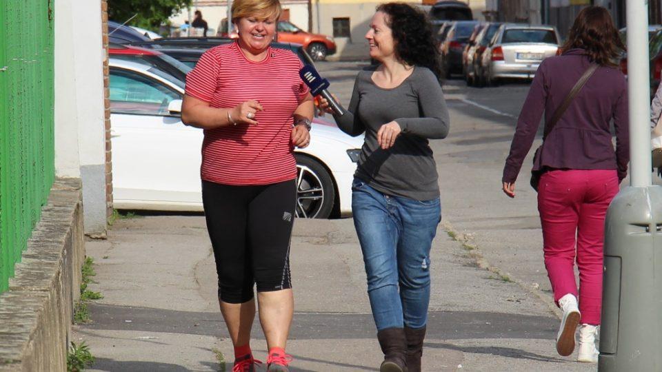 Redaktorka Mária Pfeiferová sleduje běžce po celou dobu jejich přípravy na půlmaraton