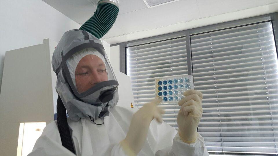 Nové laboratoře pro parazitology v Biologickém centru Akademie věd v Českých Budějovicích