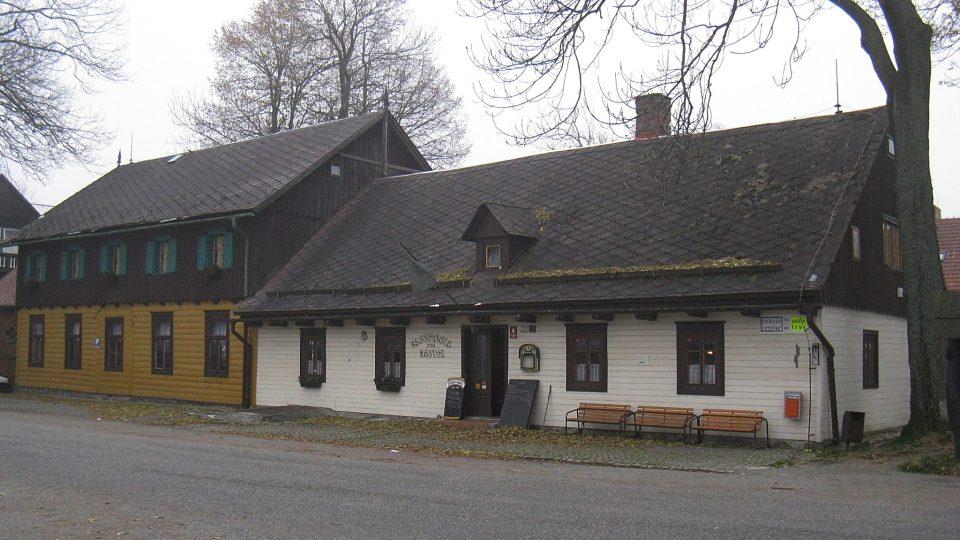 Nejstarší část restaurace Rejvíz pochází z 18. století