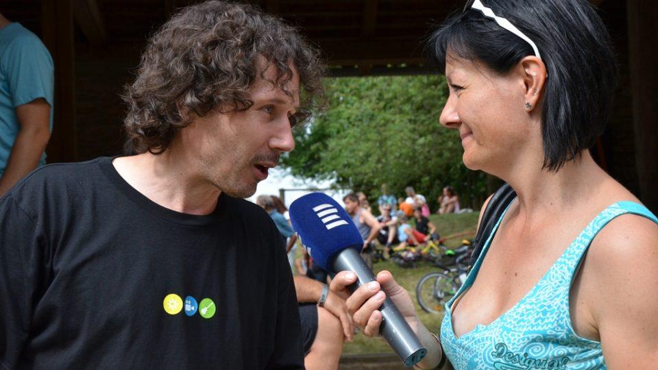 Hudební stodolu si pochvaloval návštěvník Čáp, který se podle svých slov stal Čápem s husí kůží