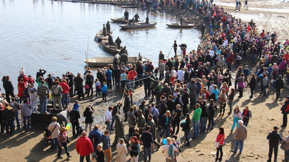 Výlov rybníka Rožmberk láká tisíce lidí