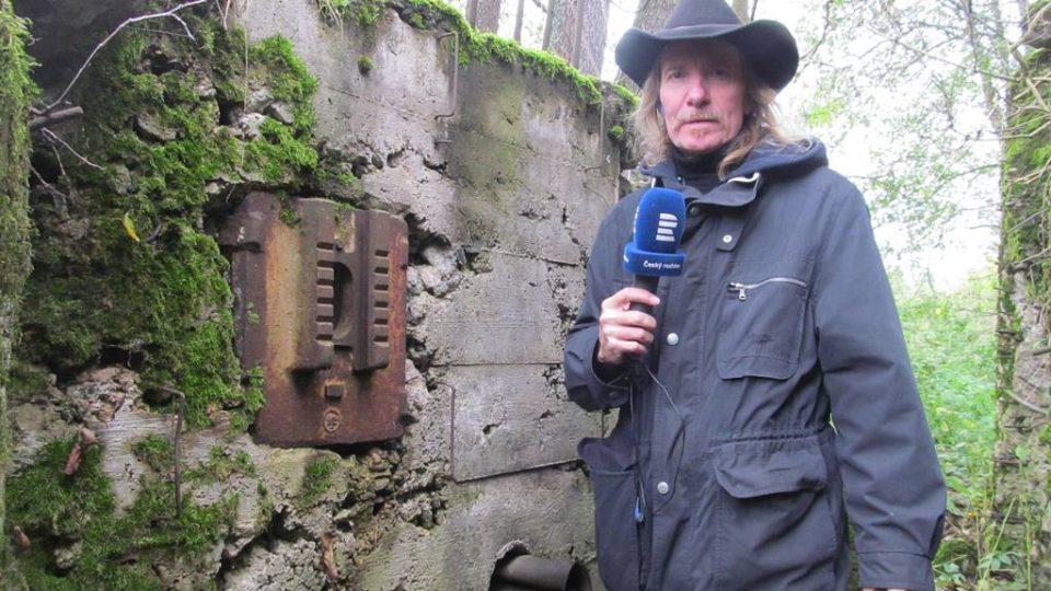 Pozůstatky předválečných bunkrů na Českobudějovicku