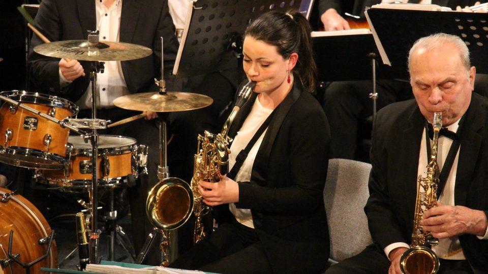 Vánoční koncert Rozhlasového swingového orchestru v Českých Budějovicích