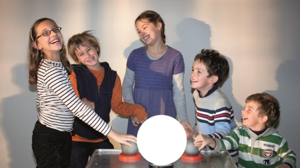 Výstava Experiment - Člověk ve vědeckém centru Welios v hornorakouském Welsu