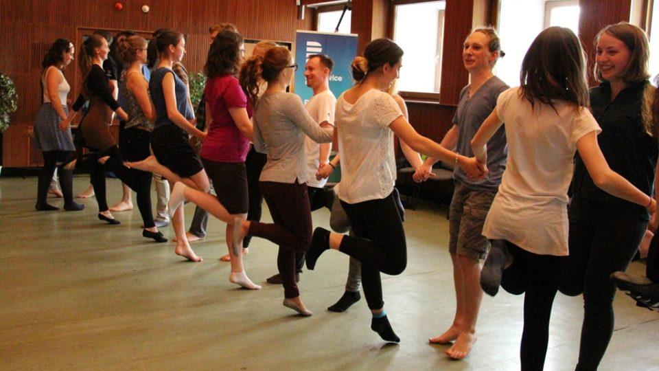 Workshop irského tance
