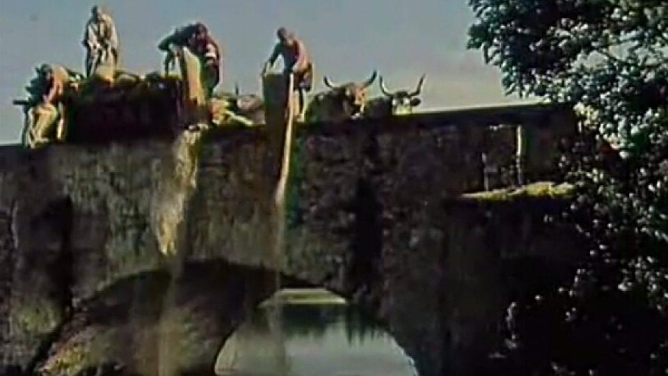 Most se objevuje v pohádce Byl jednou jeden král, kde z něj sypou sůl. Bohužel podobnou, ale mnohem temnější úlohu, sehrál i v období heydrichiády