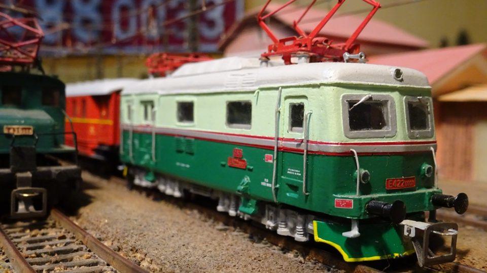 Kolejiště Klubu železničních modelářů České Budějovice