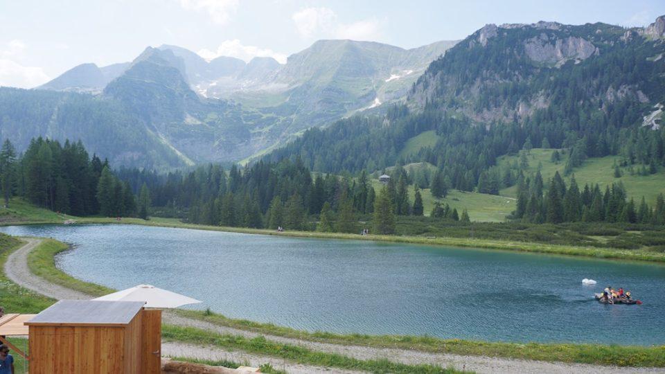 Hornorakouské horské údolí Wurzeralm nabízí turistům přibližně dvouhodinová nenáročná vycházku po naučné stezce