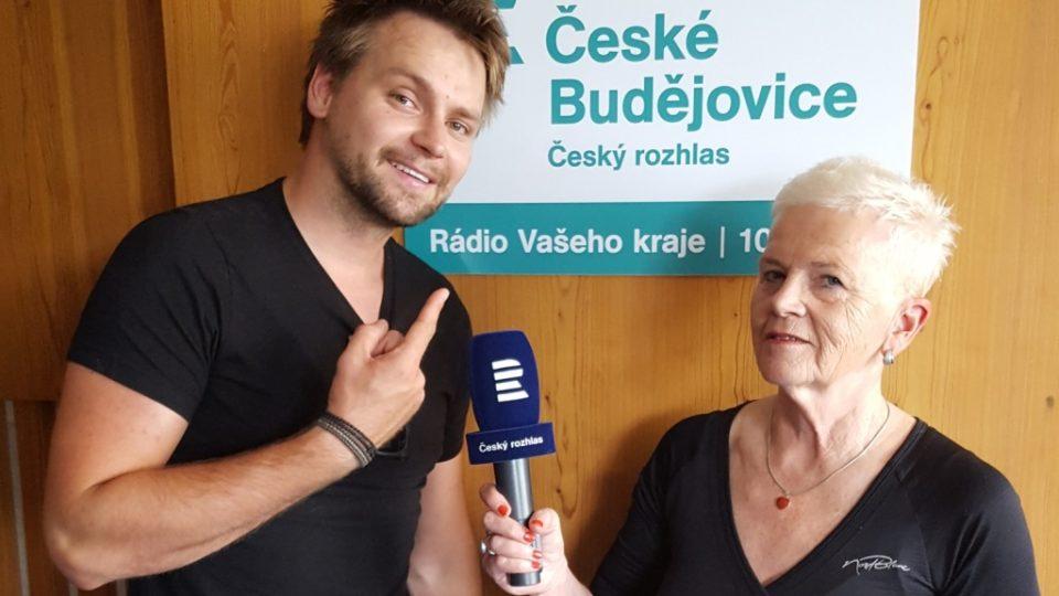 Rozhovor s Josefem Vágnerem natočila autorka pořadu Dámská jízda Mirka Nezvalová