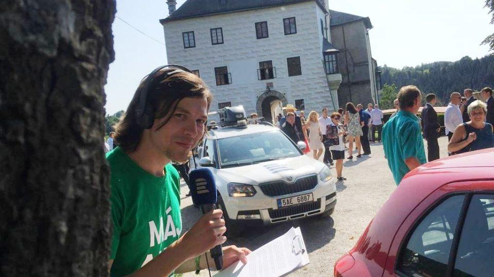 Na hrad Rožmberk se vypravil redaktor Matěj Vodička