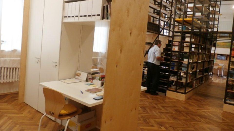 Nová multifunkční knihovna na třeboňském gymnáziu