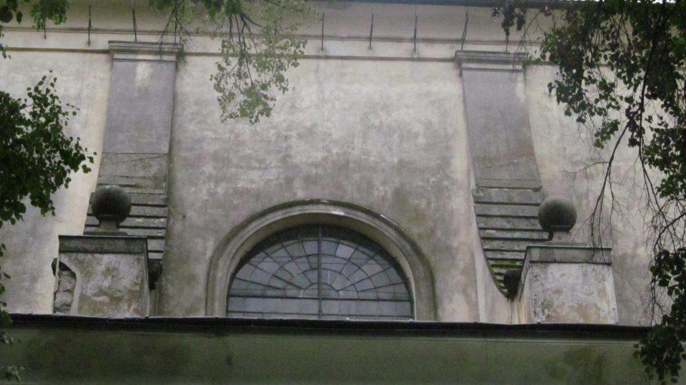 Mohutná stavba klášterního kostela