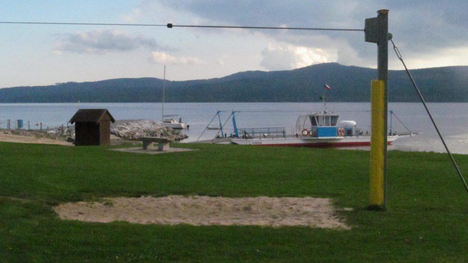 Dolní Vltavice je dnes zajímavým a rozrůstajícím se rekreačním střediskem na břehu přehradního jezera Lipno