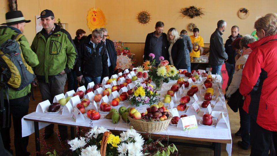 Slavnosti plodů s ovocnářským jarmarkem a pěstitelskými soutěžemi se letos uskutečnily v Krtelích