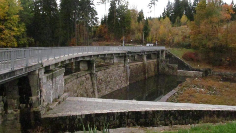 Nádrž Soběnovské přehrady je vedena jako pstruhový revír
