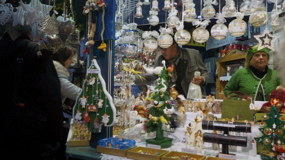 Adventní trhy v hornorakouském Linci