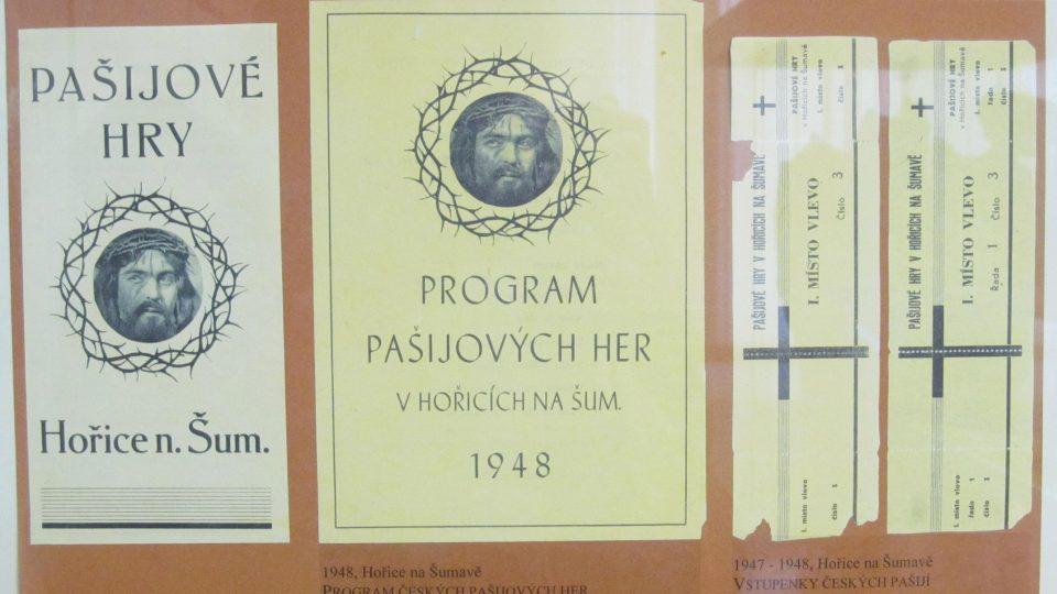 Muzeum pašijových her v Hořicích na Šumavě