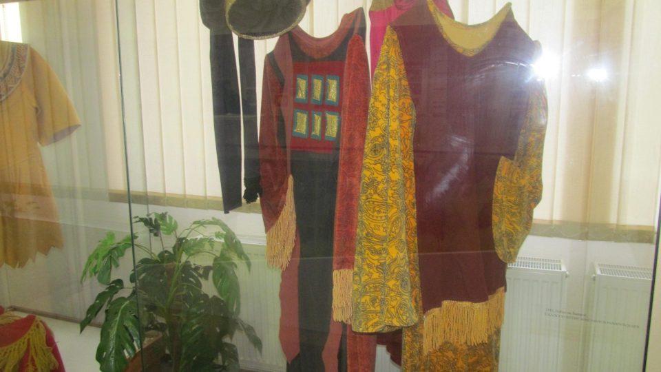 V hořickém Muzeu Pašijových her si můžete prohlédnout původní dochované kostýmy