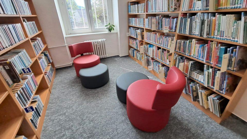 Dětské oddělení knihovny ve Vimperku se přestěhovalo do nových prostor