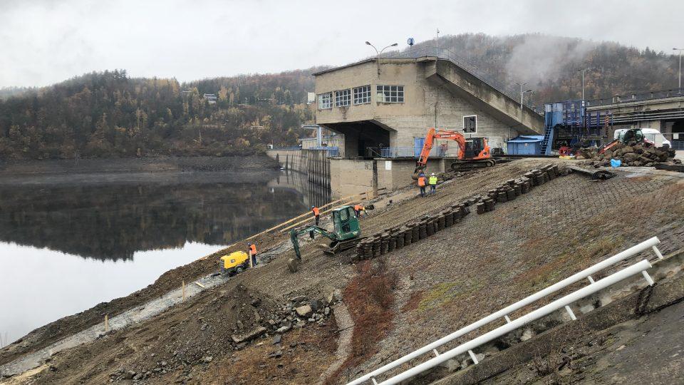 Modernizace Orlické přehrady