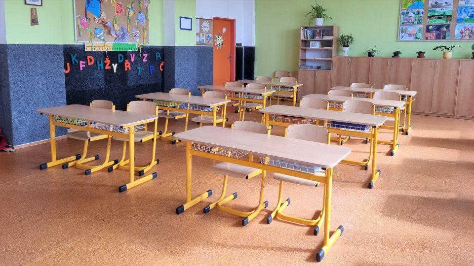 První školní den na 4. základní škole v Jindřichově Hradci