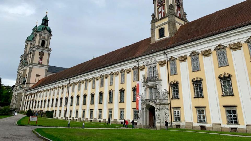 Augustiniánský klášter v Sankt Florian necelých dvacet kilometrů od Lince